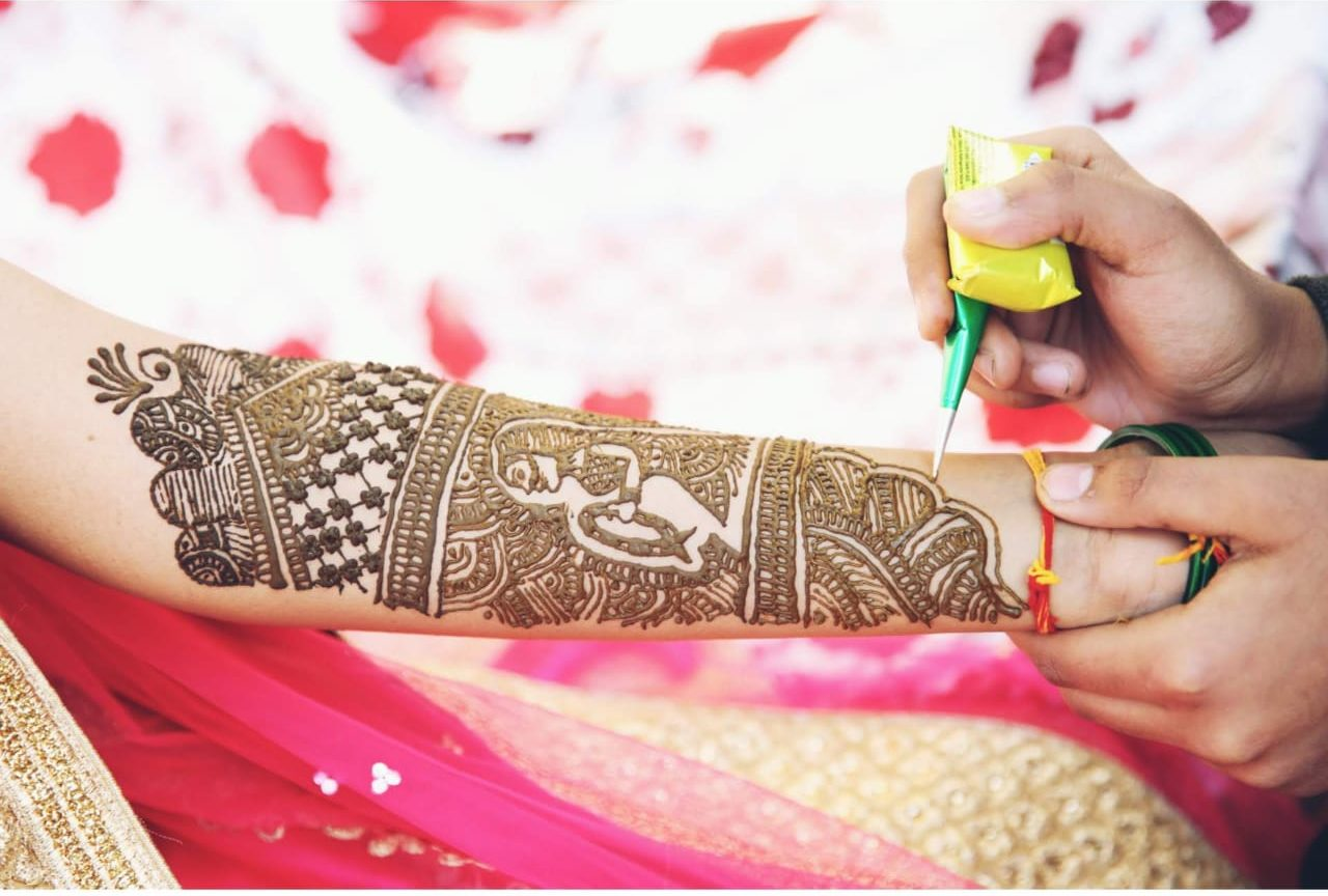 Mehndi night organised by Neer Event Management