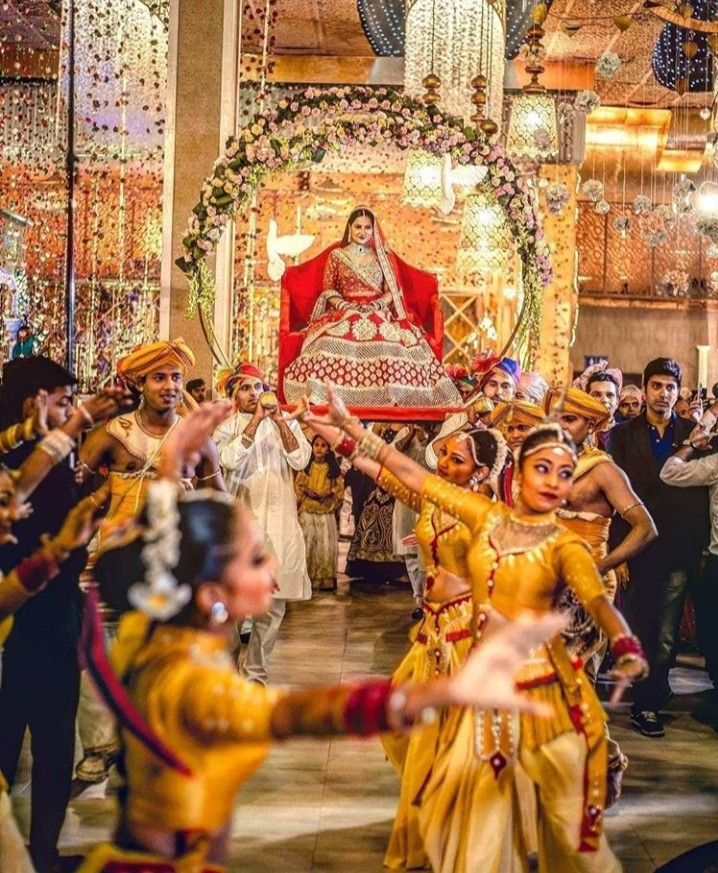 bride entry Wedding neer event management
